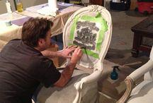 Maľovanie/úprava nábytku