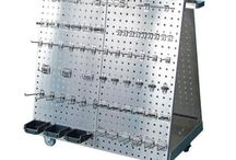 Stainless Steel / Stainless Steel LocBoards and Mobile Tool Carts are The Ultimate Storage Solution for a Sterile or Harsh Environment