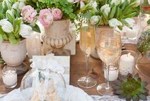 ! ~Spring Decor Ideas~ ! / Spring Home Decor Ideas, Easter Decorating Ideas, Spring Centerpieces, Spring Tablescape Ideas, Decorating Ideas for Spring, Home Decor Ideas for Spring, French Country Spring