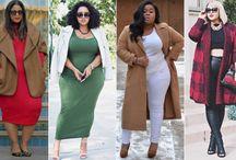 Plus Size Style Inspiration / Women's plus size fashion. Plus size fashion and style inspiration | Plus size dresses | plus size skirts | plus size tops | plus size pants | plus size bottoms | plus size coats | plus size coats