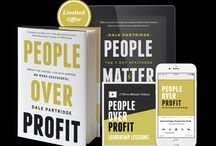 people matter/ people over profit
