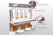 PLV : BRICO / JARDIN / Retrouvez tous nos outils de communication PLV pour mettre en valeur vos produits.