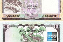 Billets Nepal / La roupie népalaise est la monnaie officielle du Népal. Les billets de banque Nepal en circulation sont : 5, 10, 20, 50, 100, 500 et 1000 roupie népalaise. Il n'est pas possible de s'en procurer en France (extrêmement rare), mais uniquement au Népal.