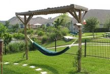 Backyard Ideas / Sift through these wonderful #backyards for wonderful #layout and #landscaping ideas to use in your own home.