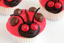 Kaydences Ladybug 1st birthday ideas / by Kathy Whitlock