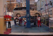 1/24 scale automotive/ diorama / Toyota Maintenance Facility, 1/24 scale