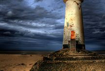 Lighthouses / A sailor's beacon. / by Jeremy Burke