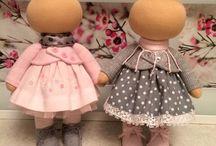 bábiky látkové