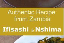 Zambia dishes