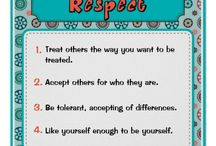 Respect  / Pin ideas related to teaching and sharing ideas for Respect with students.