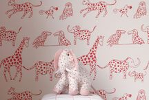Wall Treatment Ideas / Inspiring ideas showing all kinds of ways to make your children's wall beautiful.