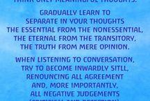 Medative verses
