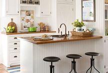 Salas de estar de cocina