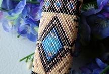 native lighter beaded cases