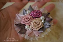 ribbon brooch design