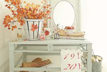 • Seasons || Fall Deco • / Autumn images that can inspire to decorate your home !