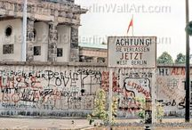 Berlin Wall - Tiergarten / Here you can see the Berlin Wall in 1989 as it looked in district Tiergarten.