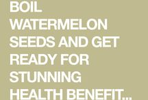 health with watermelon seeds