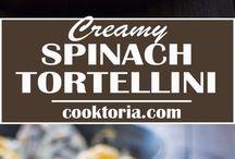 tortellini ıspanaklı