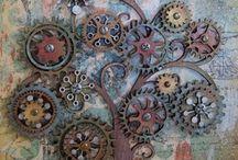 steampunk / Steampunkmideoita ja taidetta