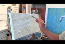 maalaustekniikoita