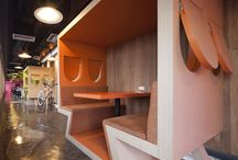 Cool office Spaces / by Julie Kelly-Stamps