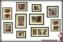 Zestawy ramek / Ramki na zdjęcia, Baby STAMP, Multiramy, multigalerie