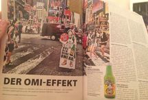 Storys about Omi's Apfelstrudel Fruit Juice / Magazins, TV, Newspaper about Omi's Apfelstrudel