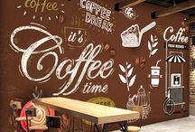 wallpaper coffe shop
