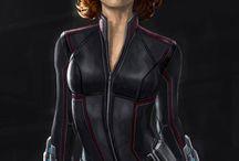 Black Widow / Natasha Romanoff and her webs of badassness