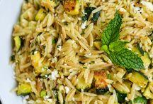 Orzo / Risotto/ Quinoa / Orzo recepten