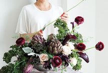 cắm hoa vintage