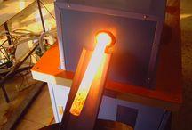 Induction Forging Furnace / Induction Forging Furnace  http://www.dw-inductionheating.com/Induction-Rod-Forging-Furnace-17-1.html
