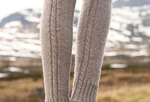 Leg warmers / Knitted