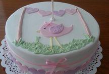 torta con pajarito
