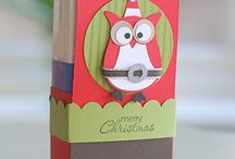 Cards and Things made with the Stampin Up Owl Punch / by Jane Novak