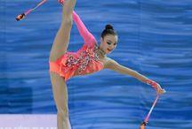 RG - rytmisk gymnastikk og dansing