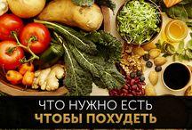 Диеты и снижение веса