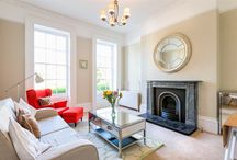 18 Lansdown Crescent / Situated within a beautiful curved row of fine Georgian buildings, the apartment boasts high quality furnishings which ooze style and character. A modern abode for holidaymakers and corporate clients, with few traditional touches.