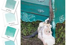 Table of Teals by Heirloom Traditions Paint