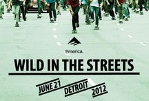 Wild in the Streets...Detroit / by South Street Skateshop