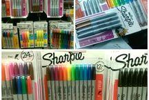 Sharpies arts & crafts