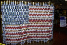 CANstruction / Architects using cans of food to design the ultimate structures and then the cans go to feed the hungry!