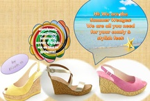 Handmade Wedges / #handmade#wedges#platforms#summer shoes / by Elizabeth Handmade Shoes