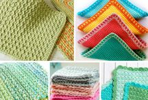 Crocheted dishclothes!