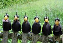 Ptáci na plot