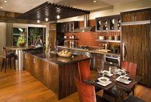 Japanese Influenced Kitchen