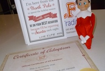 Elf on the shelf - Our Elfie Peterson