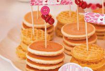Pancake set up