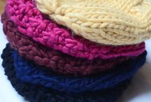 Tricot, tressage et crochet